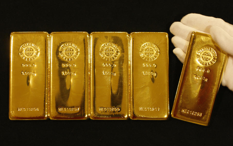 Gold remains a safe haven. Photo: Yuriko Nakao/Reuters