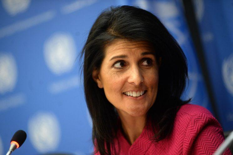 Nikki Haley Appeared at a Women's Summit, and Things Got Uncomfortable