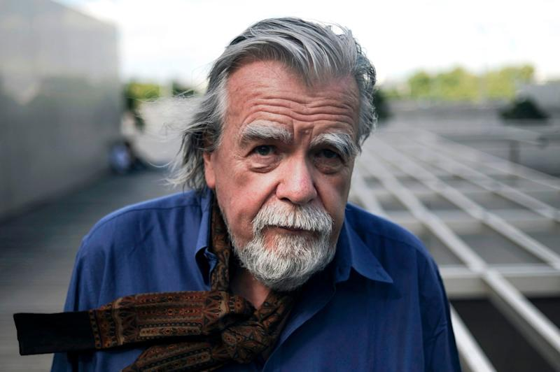 French actor Michael Lonsdale posing during the Paris Cinema Festival in Paris in 2011 (AFP via Getty Images)