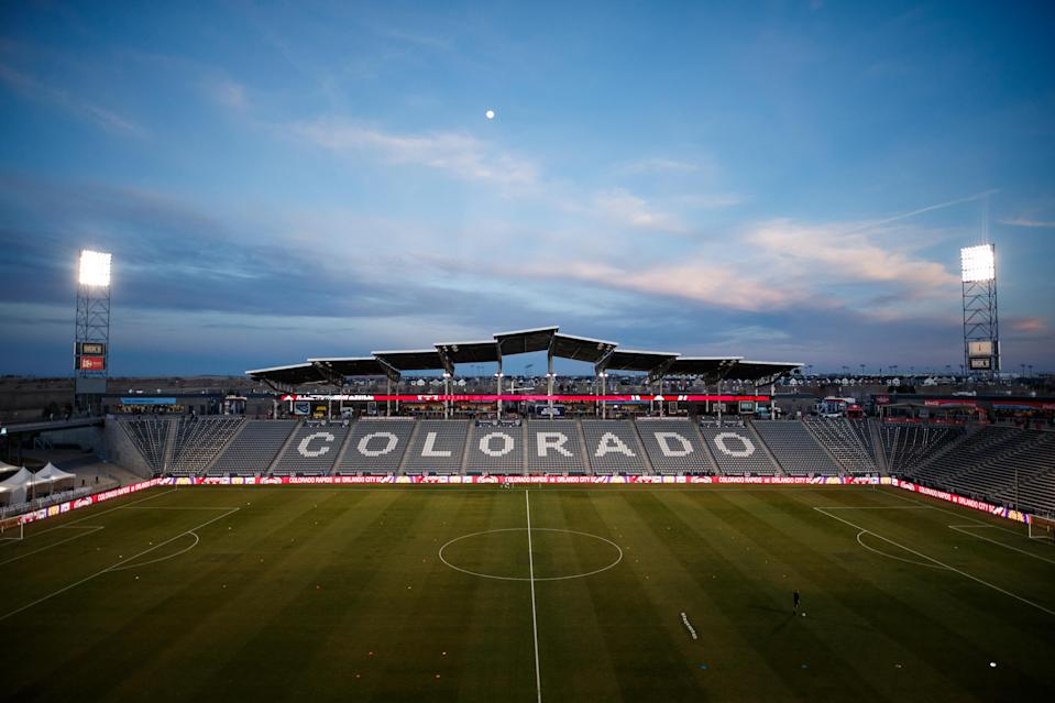 Dick's Sporting Goods Park, home stadium of the Colorado Rapids of MLS. (Isaiah J. Downing/USA Today)