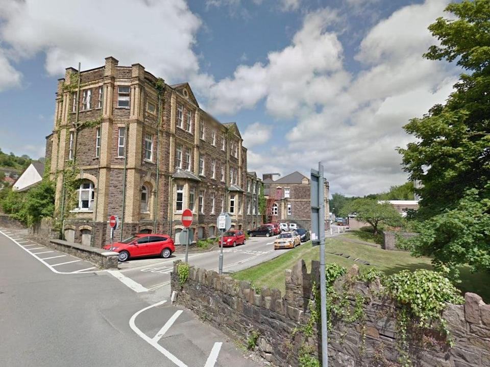 Elizabeth Mahoney had been a patient at County Hospital in Pontypool (Google Street View)