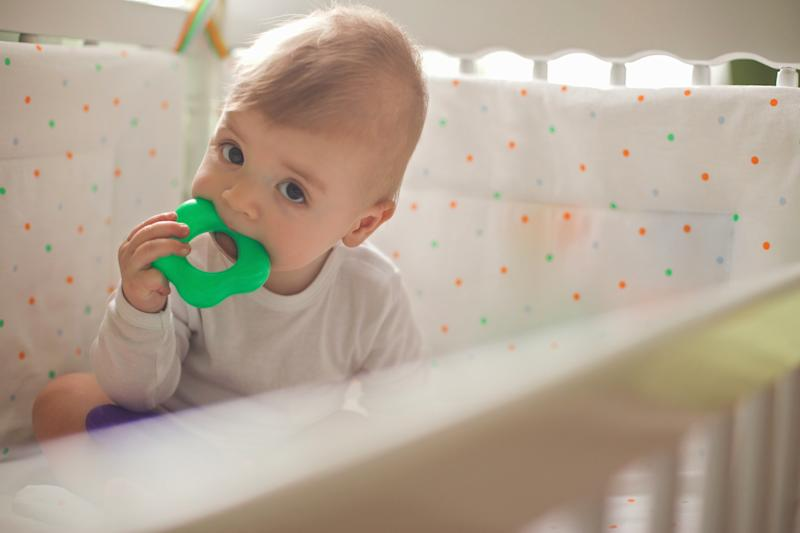 The BDA recommends teething rings as a treatment for teething [Photo: Getty]
