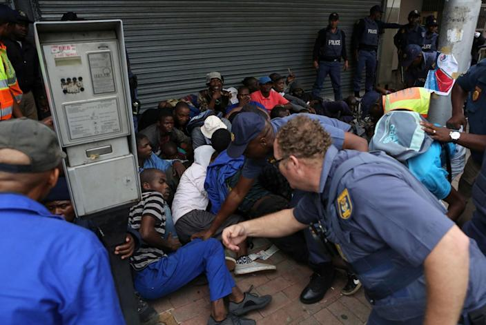 South Africa foreigners xenophobia pretoria