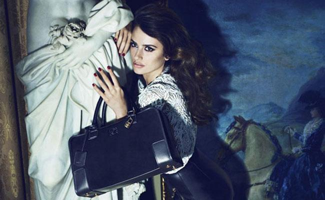 First Look At Penelope Cruz Posing In The Mirror In Loewe Ad Campaign
