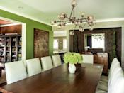 "<p>""As we continue to spend more time both working and just living from home, bringing the outside inside will continue to be a popular trend. <a href=""https://www.benjaminmoore.com/en-us/color-overview/find-your-color/color/hc-122/great-barrington-green"" rel=""nofollow noopener"" target=""_blank"" data-ylk=""slk:Benjamin Moore Great Barrington Green"" class=""link rapid-noclick-resp"">Benjamin Moore Great Barrington Green</a> creates the leafy green atmosphere we are striving for."" — <a href=""https://mlavenderinteriors.com/"" rel=""nofollow noopener"" target=""_blank"" data-ylk=""slk:Mark Lavender"" class=""link rapid-noclick-resp"">Mark Lavender</a> </p>"