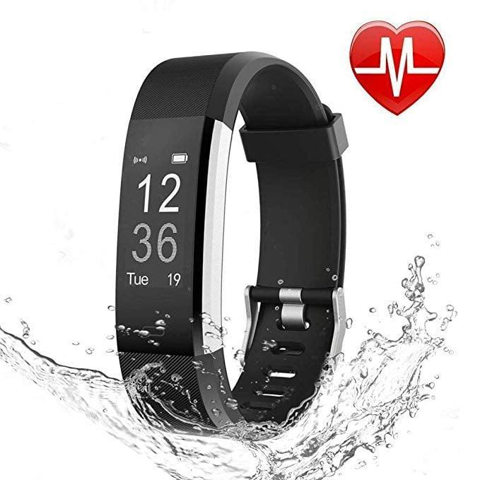 """<p><strong> The Tracker: </strong> <span>Letscom Fitness Tracker Activity Tracker Watch With Heart Rate Monitor</span> ($20, originally $30)</p> <p><strong> The Rating: </strong> 4.1 stars </p> <p><strong> Why People Love It: </strong> Affordable and effective, this tracker is perfect for beginners. One reviewer wrote that """"it's like having a personal trainer by your side! It tracks my steps, heart rate and even sleep! I especially love the last part because I struggle with my sleep and this motivates me to get better sleep.""""</p>"""