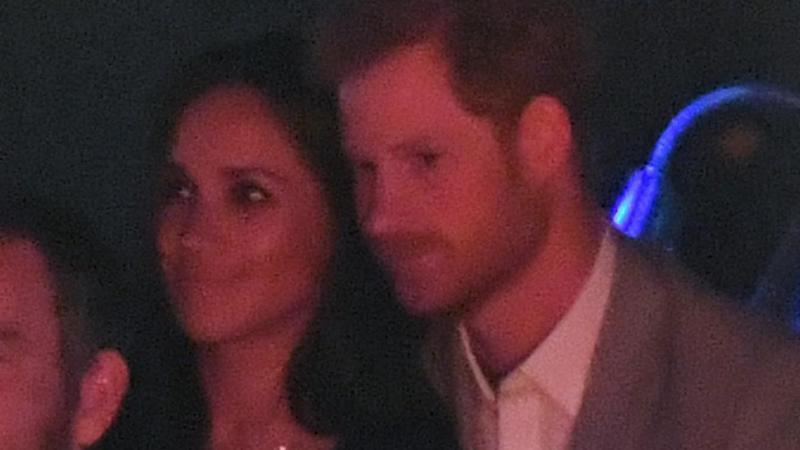 Meghan Markle Cozies Up to Prince Harry at the Invictus Games Closing Ceremony -- See the Pics!