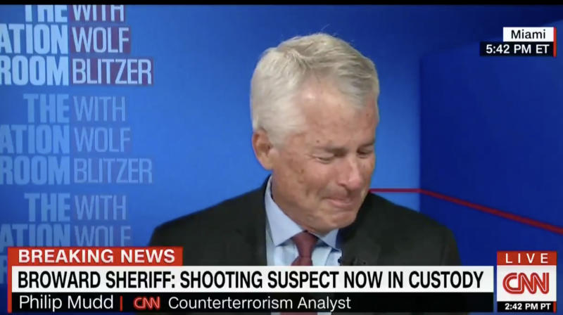 CNN Terror Expert Breaks Down In Tears Over Florida Shooting