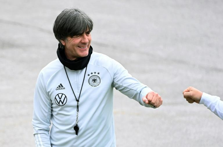 Joachim Loew has appeared at ease as he prepares his squad for Euro 2020