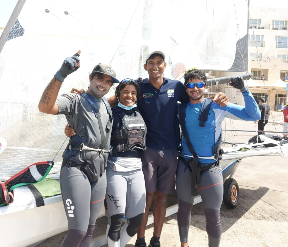 India are sending four sailors across three events at the Tokyo Olympics. Image courtesy: SAI