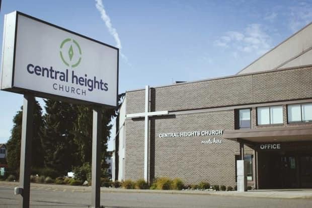 Central Heights Church is located at 1661 McCallum Rd, Abbotsford, B.C. (David Giesbrecht - image credit)