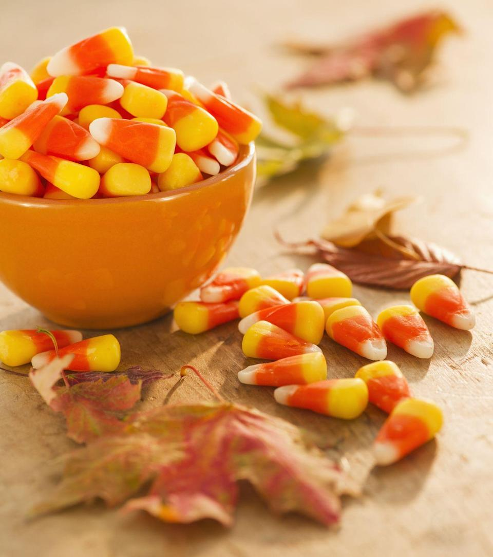 """<p>Trick-or-treating skyrocketed in popularity by the 1950s, when Halloween became a true national event. Today, over 179 million Americans celebrate the holiday — and <span class=""""redactor-unlink"""">spend about $9.1 billion</span> on it per year, according to the <a href=""""https://nrf.com/resources/consumer-research-and-data/holiday-spending/halloween-headquarters"""" rel=""""nofollow noopener"""" target=""""_blank"""" data-ylk=""""slk:National Retail Federation"""" class=""""link rapid-noclick-resp"""">National Retail Federation</a>. That's a lot of miniature candy bars!</p>"""