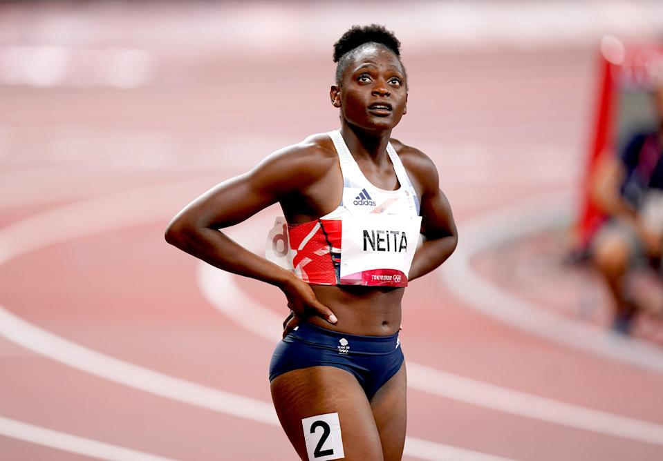 Great Britain's Daryll Neita felt she could have done better (Mike Egerton/PA) (PA Wire)