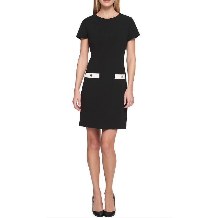 Scuba Crepe Pocket Dress. (Photo: Walmart)