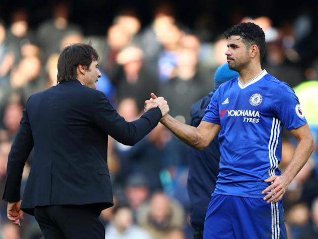 The Italian has not yet given up on Costa (Getty)