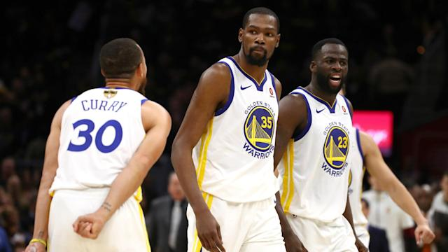 Kevin Durant had an incredible night as the Warriors defeated the Cavaliers in Game 3, and players around the league couldn't get enough.