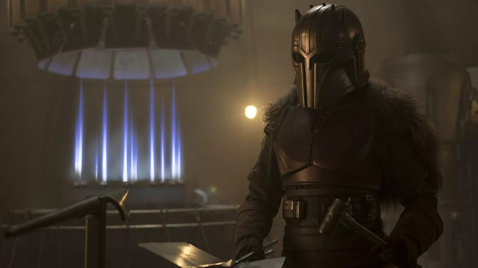 The Mandalorian armour how is it made