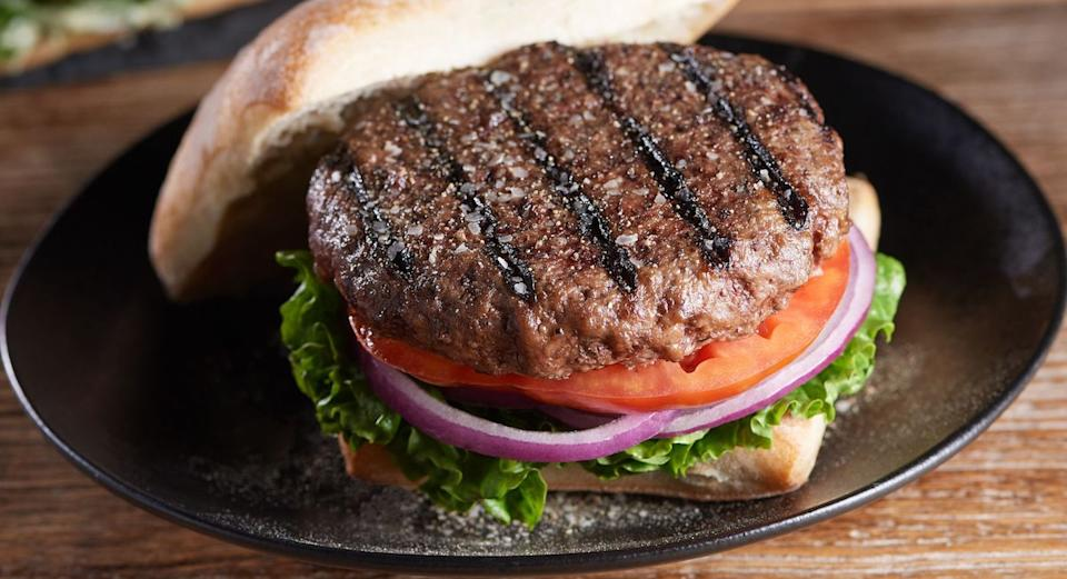 Gourmet burgers for dinner? Sounds pretty juicy to us. (Photo: QVC)