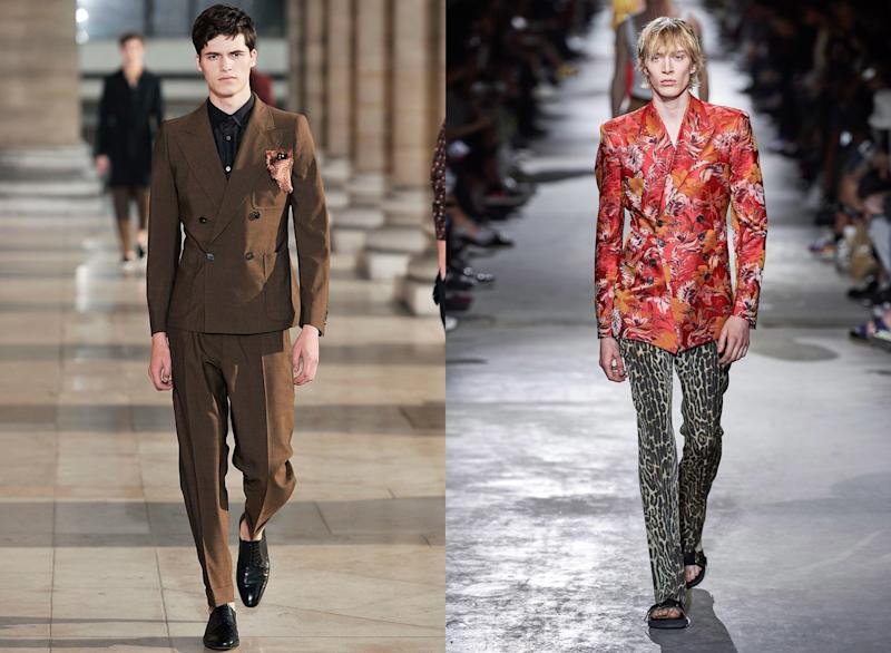 Dries Van Noten then, Dries Van Noten now