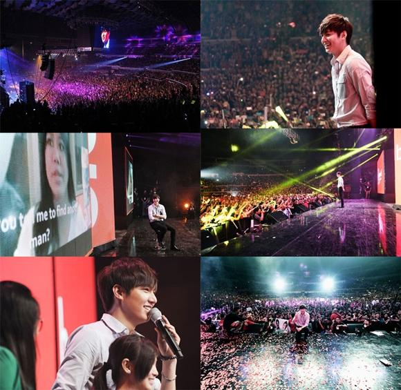 Lee Min Ho visits the Philippines for promotion