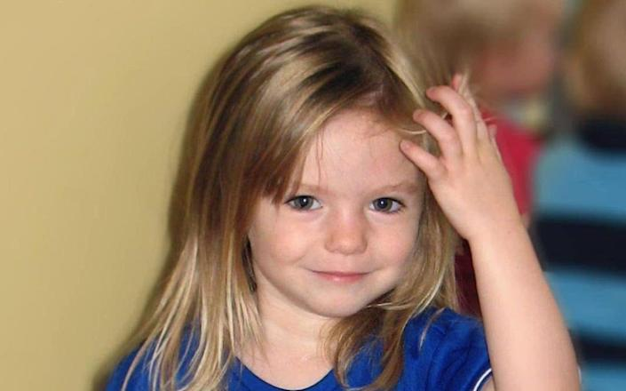 Madeleine McCann disappeared from a holiday apartment at a resort in Praia da Luz, Portugal, on the evening of May 3, 2007 - PA