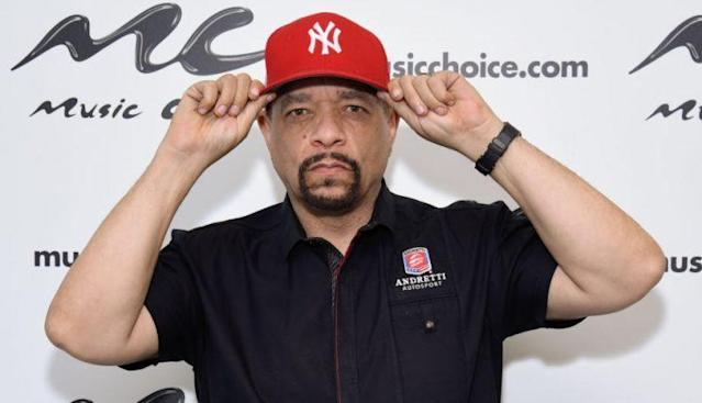 Twitter came for Coco Austin after she debuted a new hairstyle, which she titled Da Coco Swoop. Now Ice-T is fighting back.(Photo: Getty Images)