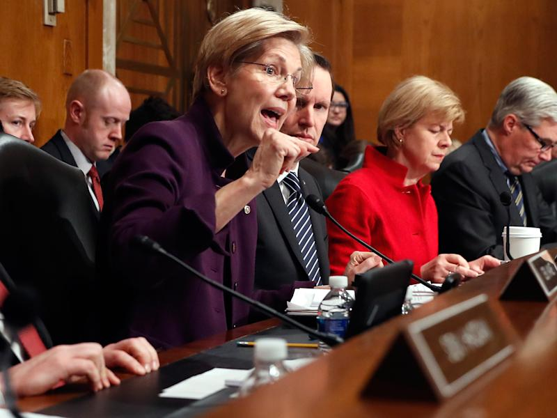 Elizabeth Warren takes to Facebook Live after being silenced in the Senate