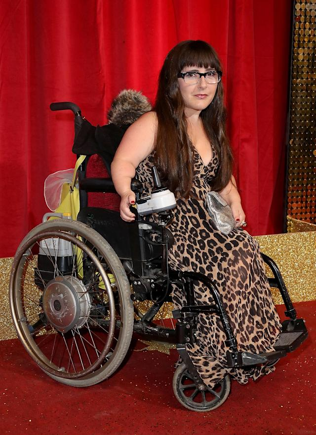Lisa Hammond attends the British Soap Awards 2016 at Hackney Empire in London (Mike Marsland/Mike Marsland/WireImage)