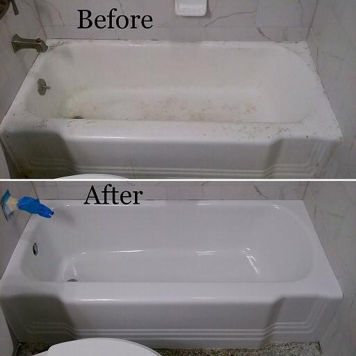 How to Renew the Look of Your Old Bathtub; Bathtub Refinishing vs ...