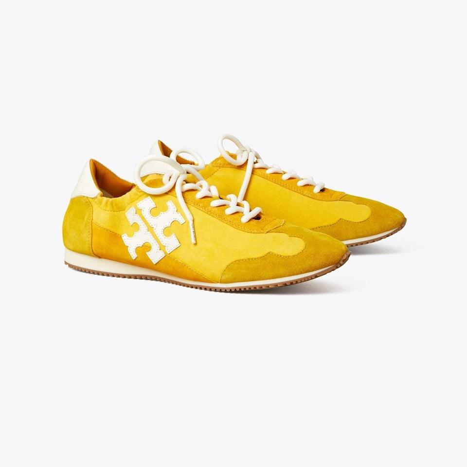 """<p><span>Tory Sneakers</span> ($228)</p> <p>""""I've taken these sneakers on long walks and short hikes, and they've supported me the entire time. I find them to be a stylish everyday choice with the logo insertion and tasteful color gradient. Plus they're also comfortable enough for all-day wear."""" - Shelcy Joseph, assistant editor, Shop</p>"""