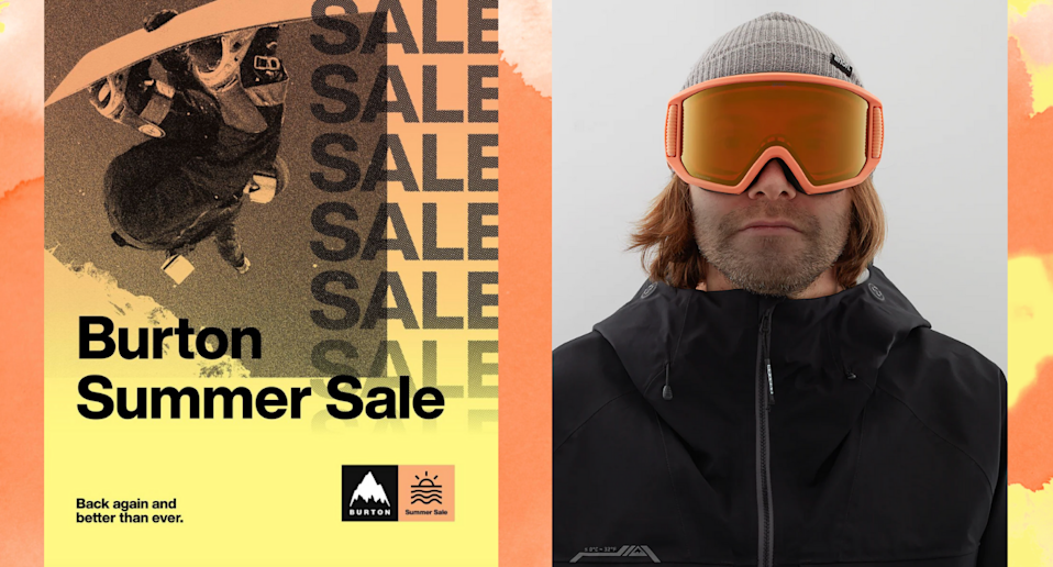 Burton's famous summer sale is back for 4 days only — these are the deals you won't want to miss (Photos via @Burton/Instagram & Burton)