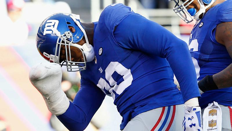 Jason Pierre-Paul denies signing new four-year Giants deal