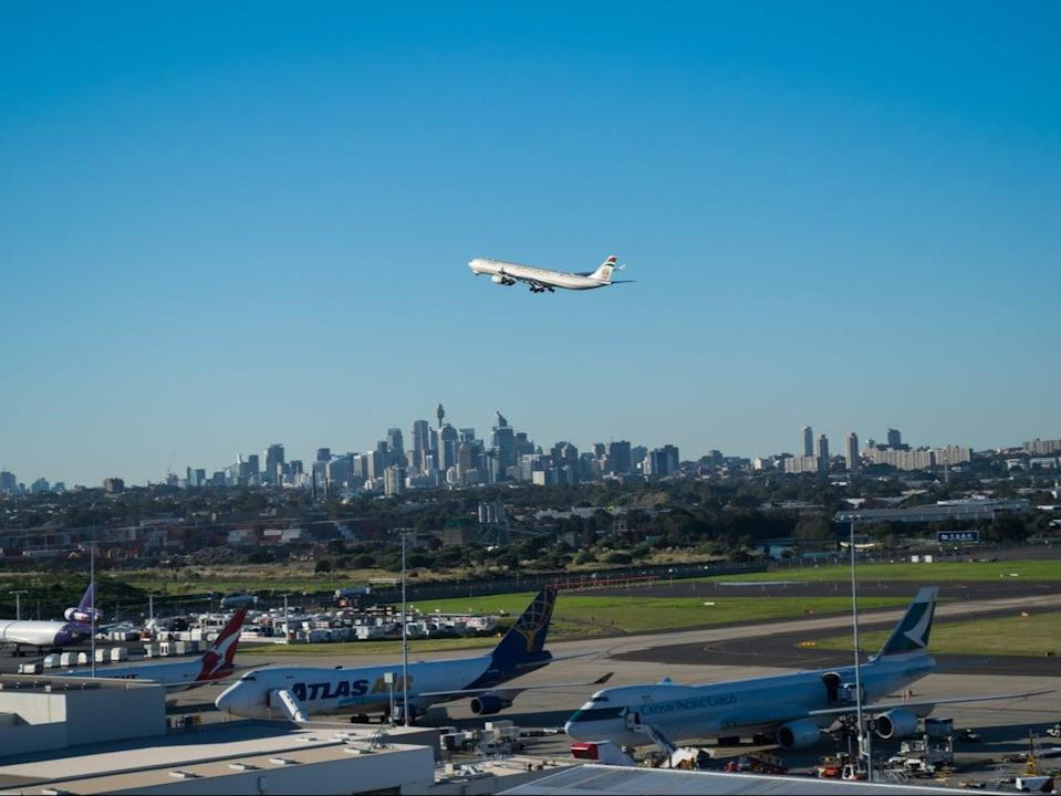 Sydney airport (Getty Images)