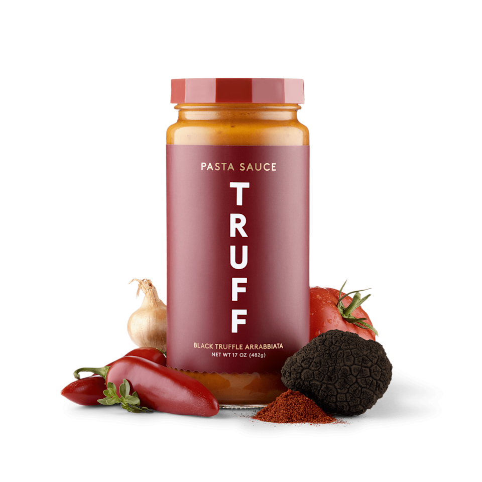 <p>This <span>Black Truffle Arrabbiata (2-Pack)</span> ($30) will deliver on savory flavor with a spicy finish. It's made with ripe tomatoes, delicate herbs, black winter truffles, and a dose of red chili peppers to engage your taste buds.</p>