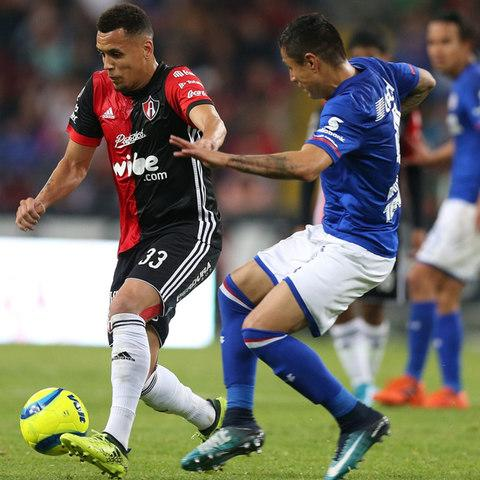 Ravel Morrison playing for Atlas - Credit: Getty Images South America