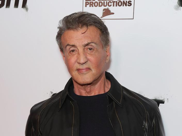 Sylvester Stallone in November 2019 (Getty Images)