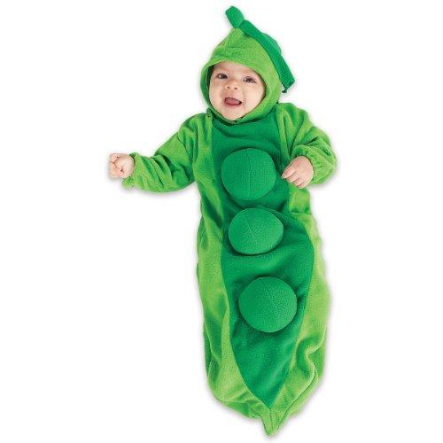 """<p><strong>Rubie's Costume Co</strong></p><p>amazon.com</p><p><strong>$18.12</strong></p><p><a href=""""http://www.amazon.com/dp/B0013Y3FIG/?tag=syn-yahoo-20&ascsubtag=%5Bartid%7C10070.g.1907%5Bsrc%7Cyahoo-us"""" target=""""_blank"""">Shop Now</a></p><p>We all know that kids don't like green veggies, but trust us, they'll love being snuggled up this cosy pea costume. </p>"""