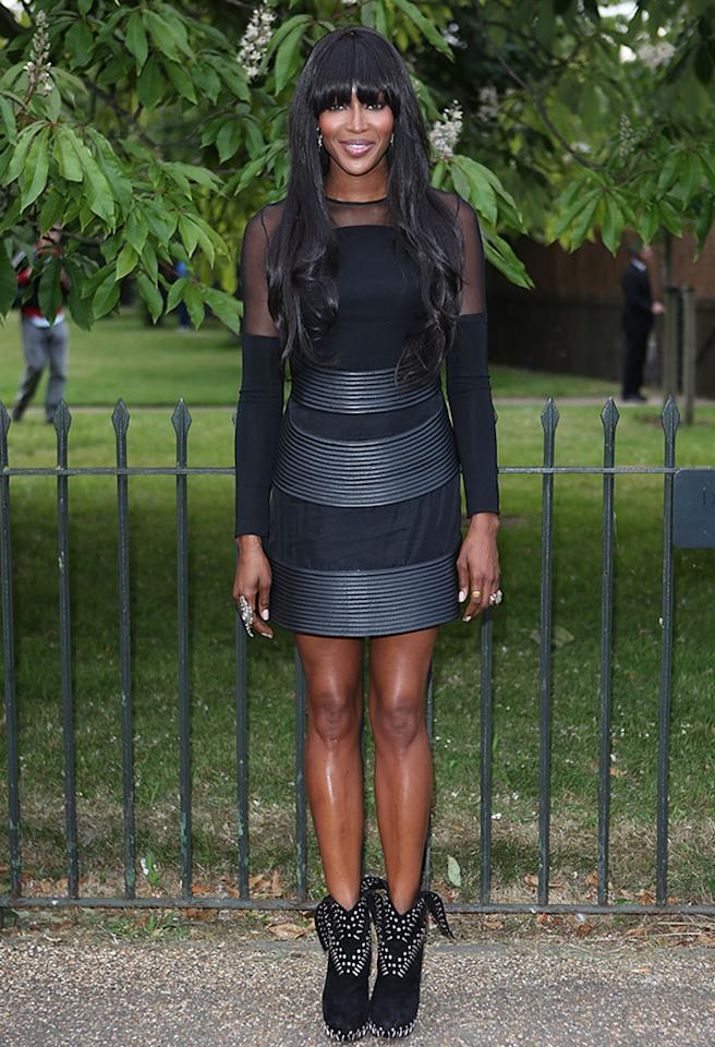 LONDON, ENGLAND - JUNE 26:  Naomi Campbell attends the annual Serpentine Gallery summer party at The Serpentine Gallery on June 26, 2013 in London, England.  (Photo by Tim P. Whitby/Getty Images)
