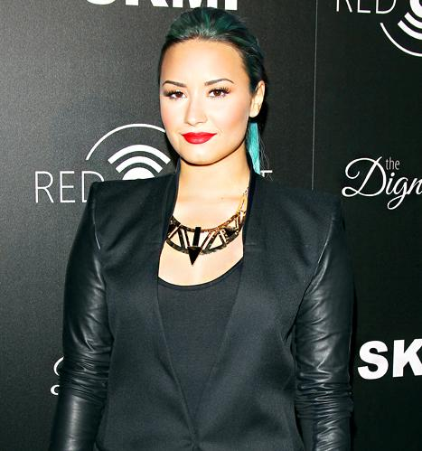 "Demi Lovato Talks ""Dark and Deep"" Struggles With Eating Disorder and Drug Use, Says Miley Cyrus Is ""Figuring Out Who She Is"""
