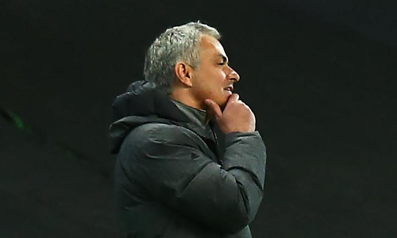 'Manchester United's fine results in their past four Premier and Europa League matches have left this early José Mourinho team in a position of unusual jeopardy.'