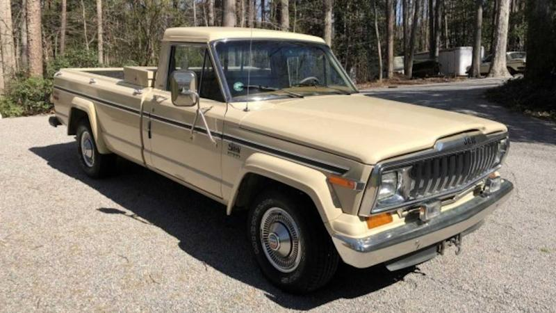Save This Rugged And Rare 1985 Jeep J10 Pioneer