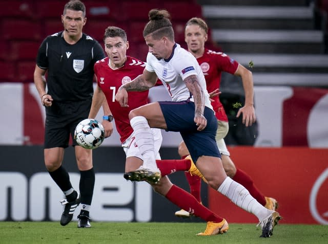 Denmark England Nations League Soccer