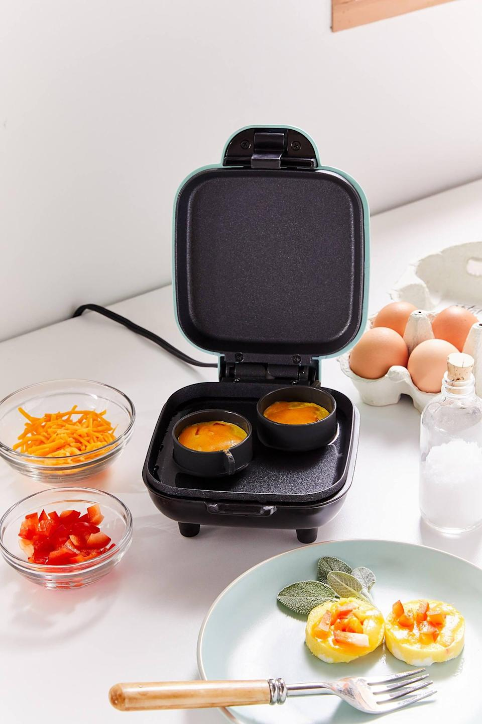 <p>Every morning will be a good one with the <span>Breakfast Bite Maker</span> ($35). The machine creates all sorts of small breakfast bites to take on the go. </p>