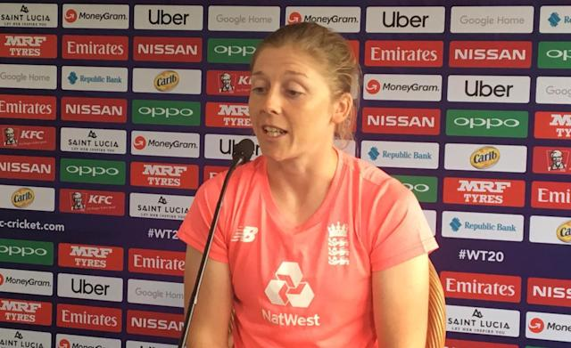 England captain Heather Knight lifted the ICC Women's World Cup on home soil two years ago