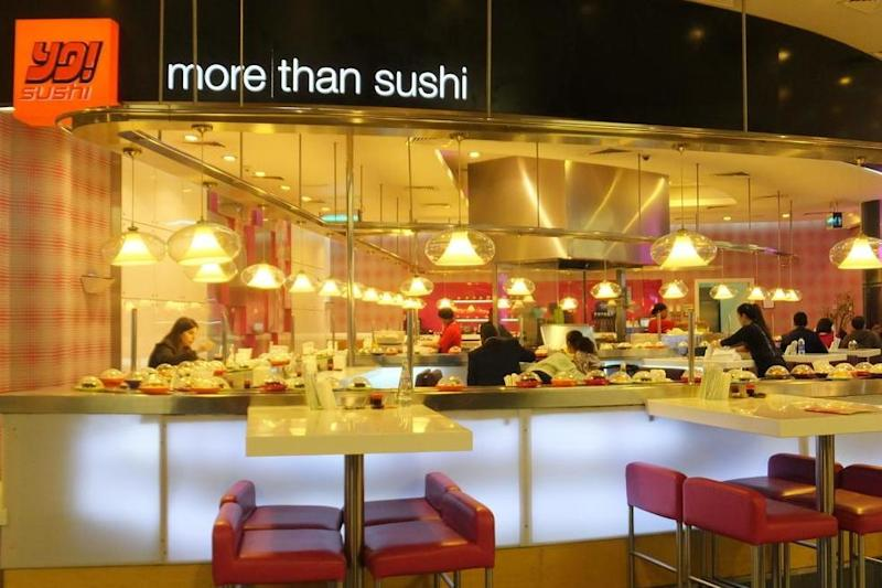 Yo! Sushi opens a new restaurant in Tottenham Court Road marking its 20th-year anniversary: Shutterstock / Ritu Manoj Jethani