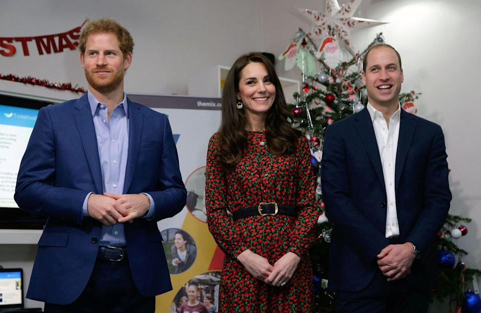 """<p>Life as a working royal doesn't slow down for the holidays. The senior members of the royal family are <a href=""""https://www.townandcountrymag.com/society/tradition/g25439469/royal-family-christmas-traditions/"""" rel=""""nofollow noopener"""" target=""""_blank"""" data-ylk=""""slk:expected"""" class=""""link rapid-noclick-resp"""">expected</a> to support their favorite charities and causes by throwing Christmas parties. </p>"""