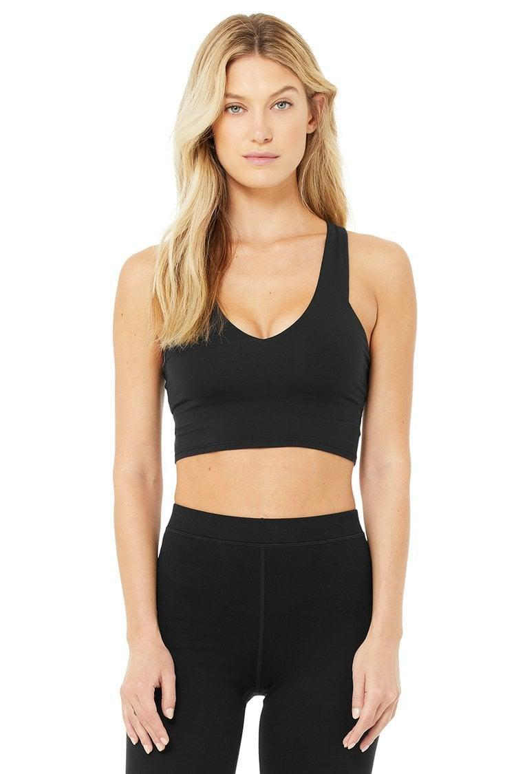 <p>If you're looking for a sports bra that doubles as a tank, this <span>Alo Real Bra Tank</span> ($72) is the one for you. It's cute, cropped, and actually provides a surprising amount of support. I wouldn't run a marathon in it, but it's great for low-impact workouts.</p>