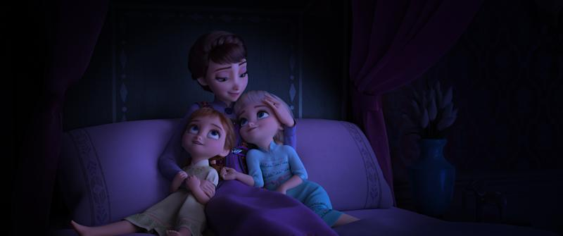 QUEEN IDUNA loves her daughters Anna and Elsa and wants to protect them at all costs especially from the secrets of her past. (Disney)