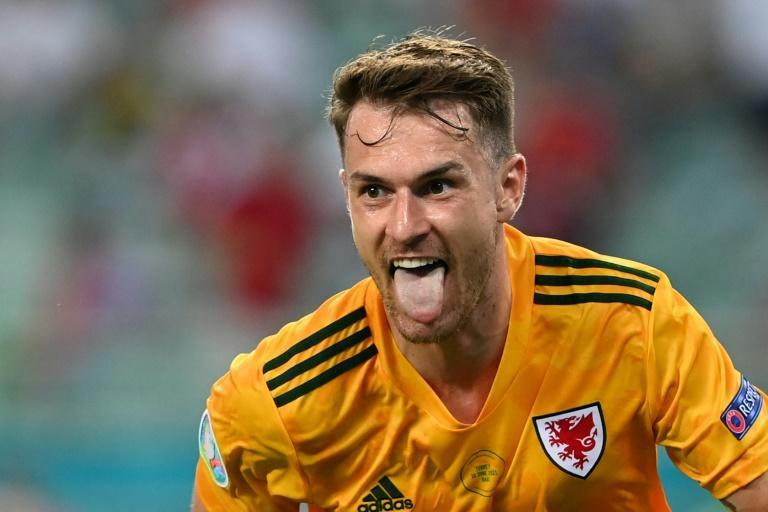 Aaron Ramsey scored his first Wales goal since November 2019 in the Turkey win