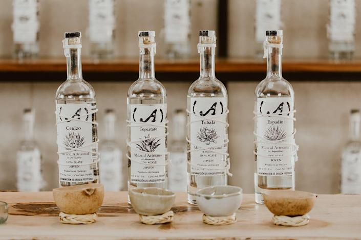 The mezcal from Acre Baja